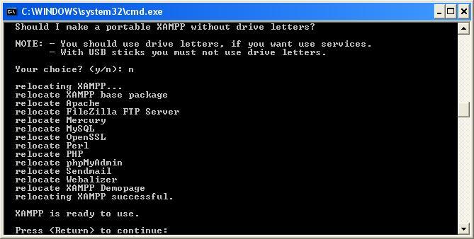 xampp_installation_schritt5_installation_abgeschlossen