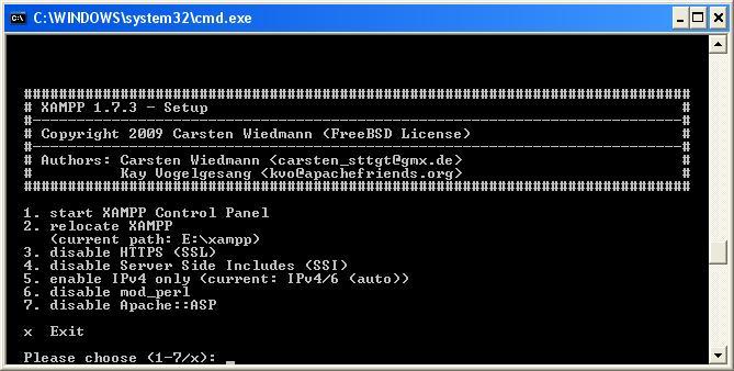 xampp_installation_schritt7_auswahlbildschirm